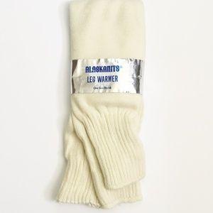 Legwarmers Ivory Super soft Alaska Knits New